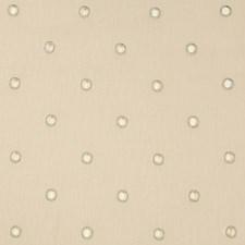 Beige/Silver/Metallic Geometric Decorator Fabric by Kravet