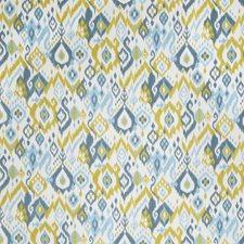 Grasshopper Flamestitch Decorator Fabric by Trend