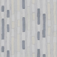 White/Light Grey/Grey Modern Decorator Fabric by Kravet