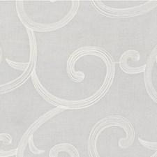 White Lattice Decorator Fabric by Kravet