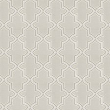 Silver Lattice Decorator Fabric by Trend