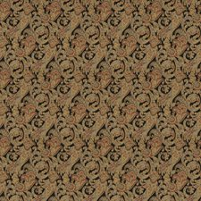 Onyx Paisley Decorator Fabric by Trend