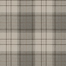 Grey Check Decorator Fabric by Stroheim