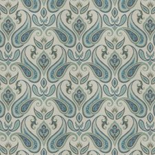Peacock Paisley Decorator Fabric by Trend