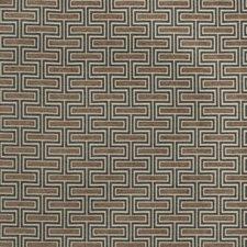 Ash Geometric Decorator Fabric by Fabricut