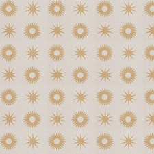 Gold Print Pattern Decorator Fabric by Trend