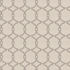 Grey Embroidery Decorator Fabric by Trend