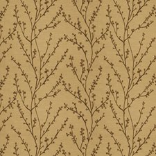Bronze Embroidery Decorator Fabric by Fabricut