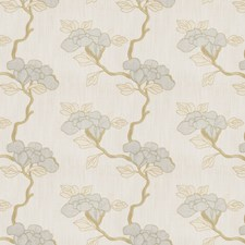 Stream Embroidery Decorator Fabric by Fabricut