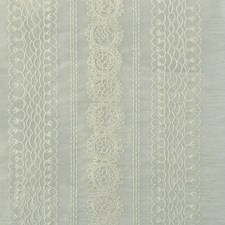 Glacier Embroidery Decorator Fabric by Highland Court