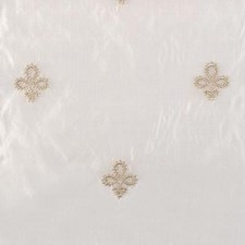 Natural/Beige Fleur De Lis Decorator Fabric by Highland Court