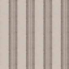 Cream Stripes Decorator Fabric by S. Harris