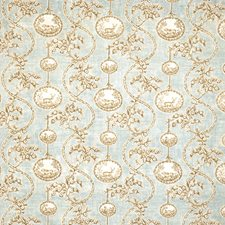 Duck Egg Animal Decorator Fabric by Vervain