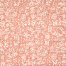 Carnelian Animal Decorator Fabric by Vervain