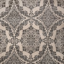 Pepper Damask Decorator Fabric by Vervain