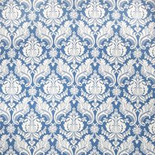 Delft Damask Decorator Fabric by Vervain