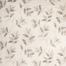 Warm Grey Embroidery Decorator Fabric by Vervain