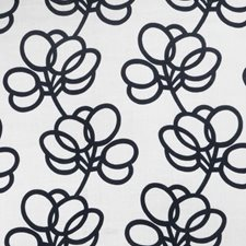 Noir Print Pattern Decorator Fabric by Vervain