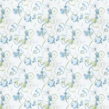 Lagoon Floral Decorator Fabric by Vervain
