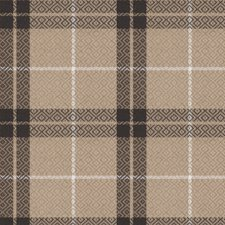Graphite Check Decorator Fabric by Vervain