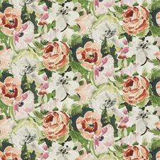 Guava Mist Floral Decorator Fabric by Stroheim