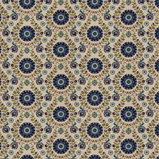 Cobalt Global Decorator Fabric by Trend