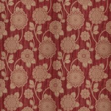 Ruby Floral Decorator Fabric by Fabricut