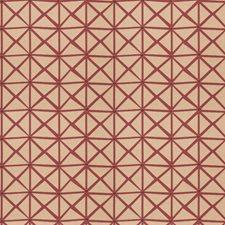 Boysenberry Geometric Decorator Fabric by Fabricut