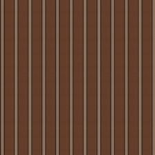 Chocolate Stripes Decorator Fabric by Fabricut