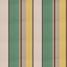Turquoise Stripes Decorator Fabric by Fabricut