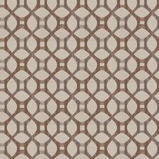 Mocha Lattice Decorator Fabric by Fabricut