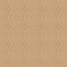 Umber Geometric Decorator Fabric by Trend