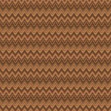 Brownstone Herringbone Decorator Fabric by Trend