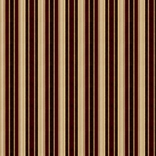 Currant Stripes Decorator Fabric by Stroheim