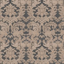 Azure Damask Decorator Fabric by Stroheim