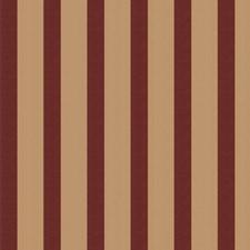 Garnet Stripes Decorator Fabric by Stroheim