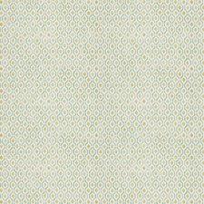 Peacock Pear Geometric Decorator Fabric by Stroheim