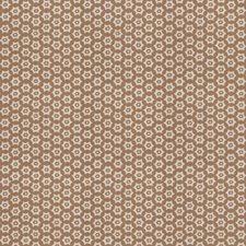 Toast Geometric Decorator Fabric by Stroheim
