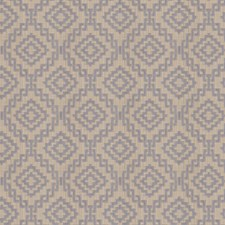 Argent Geometric Decorator Fabric by S. Harris