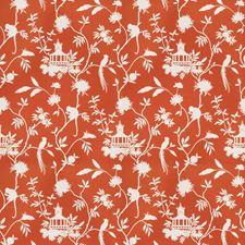 Orange Global Decorator Fabric by Trend