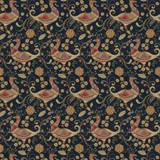 Navy Animal Decorator Fabric by Fabricut