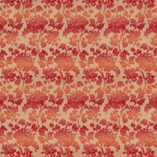 Melon Floral Decorator Fabric by Fabricut