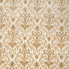 Fresh Gold Print Pattern Decorator Fabric by Trend