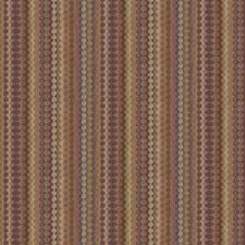 Grape Flamestitch Decorator Fabric by Fabricut