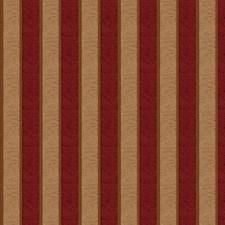 Ruby Stripes Decorator Fabric by Fabricut
