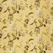 Jonquil Floral Decorator Fabric by Vervain