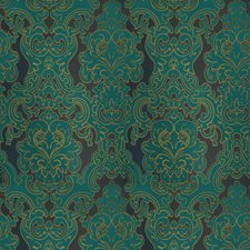 Peacock Damask Decorator Fabric by Fabricut