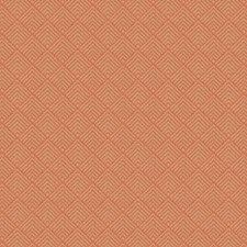Coral Flamestitch Decorator Fabric by Fabricut