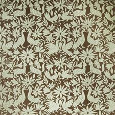 Spearmint Animal Decorator Fabric by Stroheim