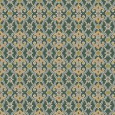 Malachite Medallion Decorator Fabric by Stroheim